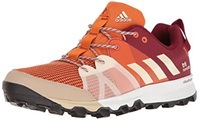 on sale a9643 007bb adidas Outdoor Men s Kanadia 8 TR Trail Running Shoe, Tactile Orange Chalk  White