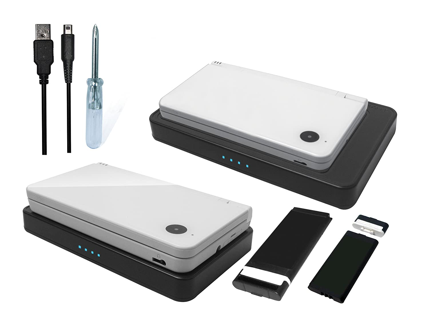 CTA DSi / DSi XL Induction Charging Pad with Rechargeable ...