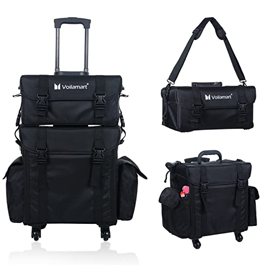 Voilamart Hairdresser Bag On Wheels