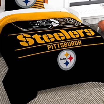Image Unavailable. Image not available for. Color  The Northwest Company  Pittsburgh Steelers Twin Comforter Set c12862d44