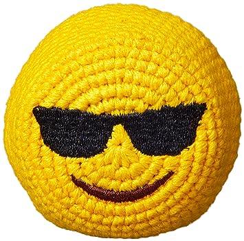 Emoji Footbag Hacky Sack - Gafas de sol diseño: Amazon.es ...