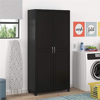Systembuild 7363414com Utility Storage Cabinet 36 Black