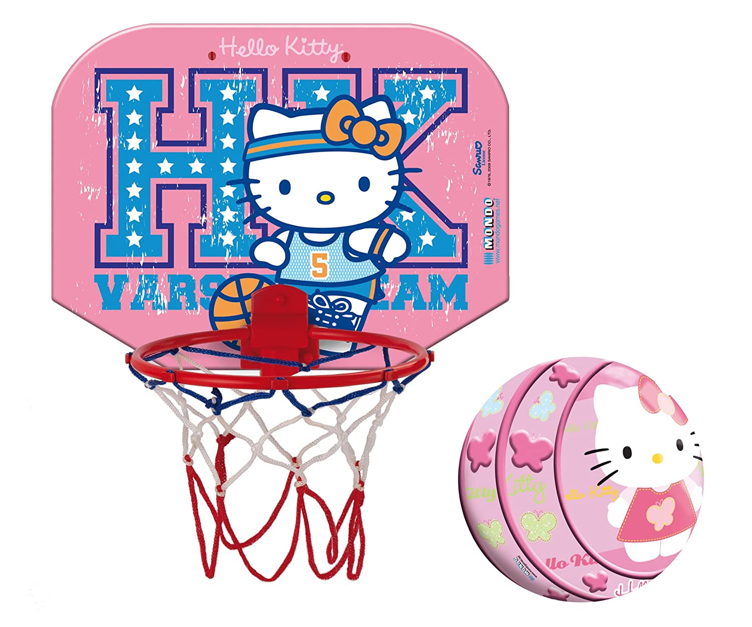 Hello Kitty - Mini-Basketball-Set