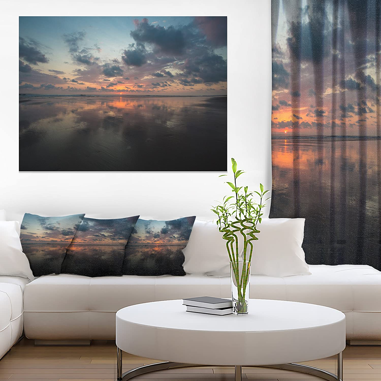 Matapalo In Costa Rica Beach Sunset Extra Large Seascape Art Canvas Amazon In Home Kitchen