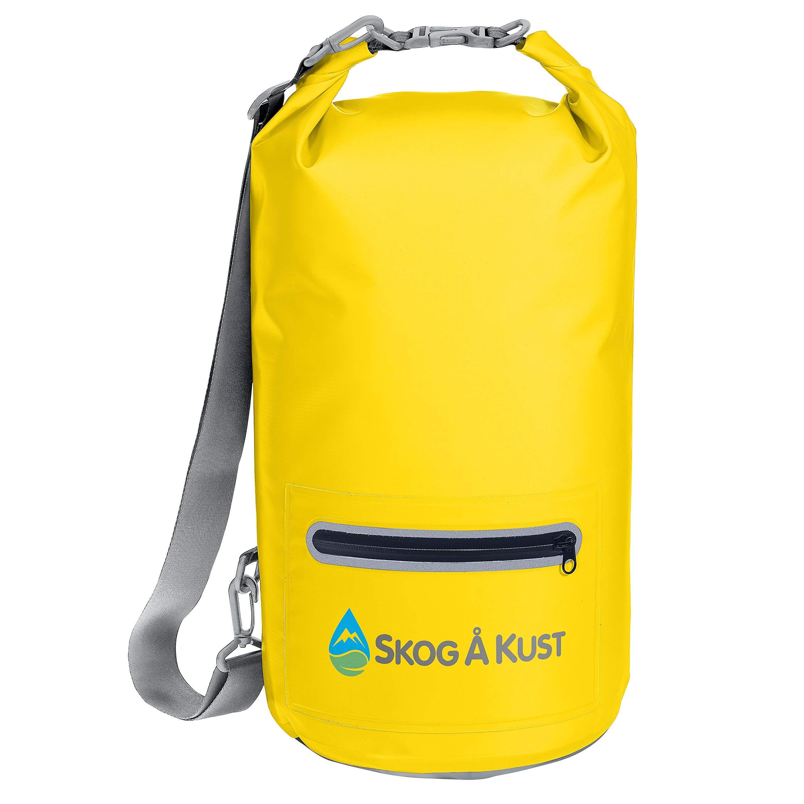 Skog Å Kust DrySak Waterproof Dry Bag   20L Yellow by Skog Å Kust