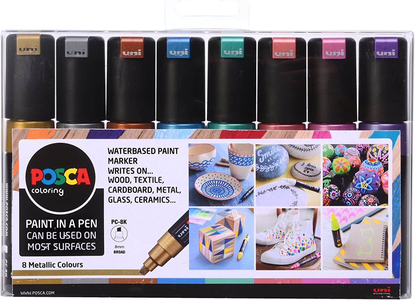 Posca Kits Cases and Packs all options and sizes Water based Paint Marker