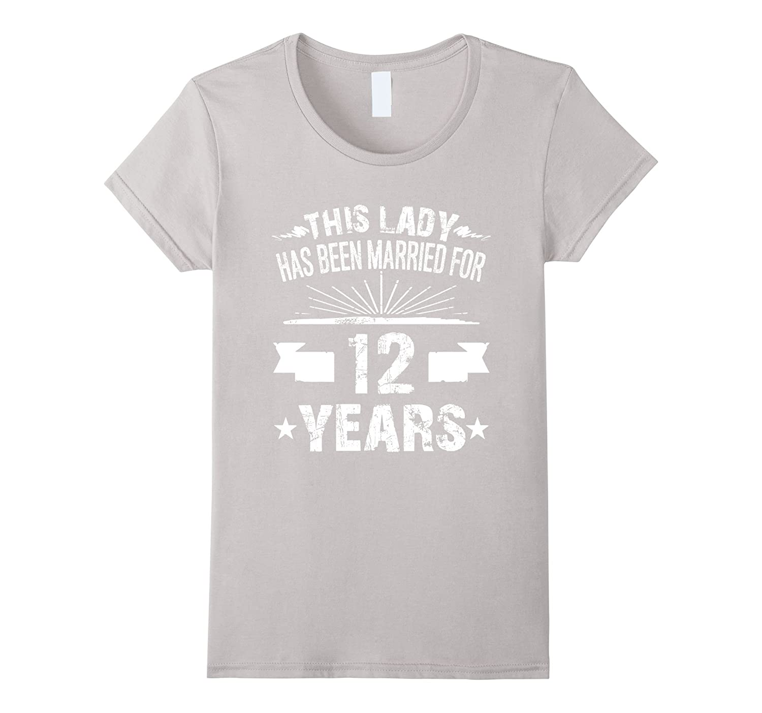 12th Wedding Anniversary Gifts 12 Year Shirt For Her-Teeae