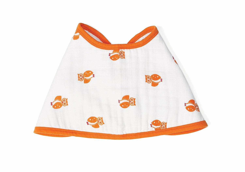 "aden by aden + anais Burpy Bib, 100% Cotton Muslin, Soft Absorbent 4 Layers, Multi-Use Burp Cloth and Bib, 22.5"" X 11"", Single, Safari Babes - Giraff/Elephant 22.5"" X 11"" 842332106131"