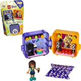 LEGO Friends Andrea's Play Cube 41400 Building Kit, Includes a Pop Star Mini-Doll and Toy Pet, Sparks Creative Play, New 2020 (49 Pieces)