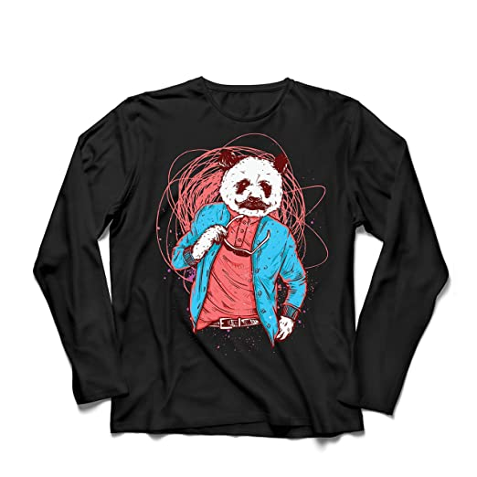 lepni.me Camiseta de Manga Larga para Hombre Panda Moderna, Ropa Urbana, : Amazon.es: Ropa y accesorios