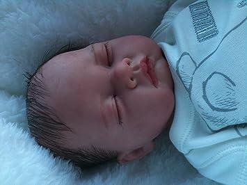 Amazon.es: Reborn bebé muñeca, Heavy, 19 cm de largo, con ...