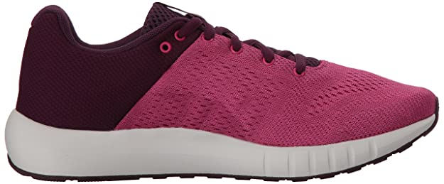 Amazon.com | Under Armour Womens Micro G Pursuit Running Shoe, Merlot (501)/Elemental 6 M | Road Running