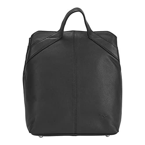 Voi leather design Mochila Cuero Mujer - Negro, One Size