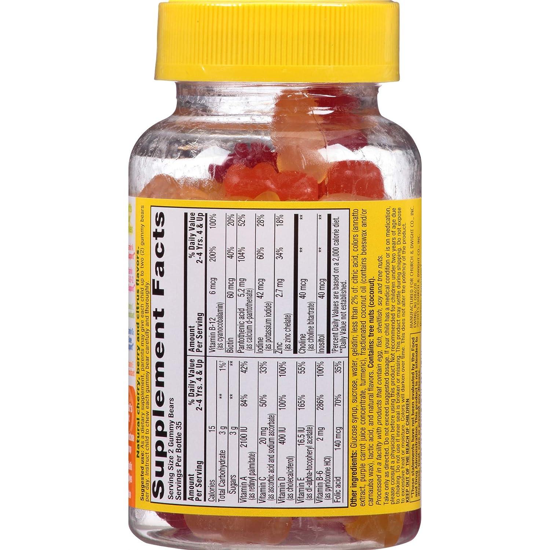 Amazon.com: L il Critters Omega-3 vitamina Gummy pescado ...