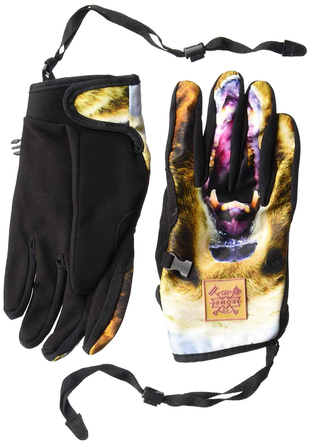 Rome Snowboards Men's Movement Gloves, Grizzly, X-Large 17GL3015012