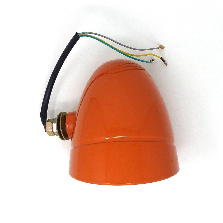 Scheinwerfer 3-flammig links in Italien hergestellt f/ür FIAT/_OM Serie Oro