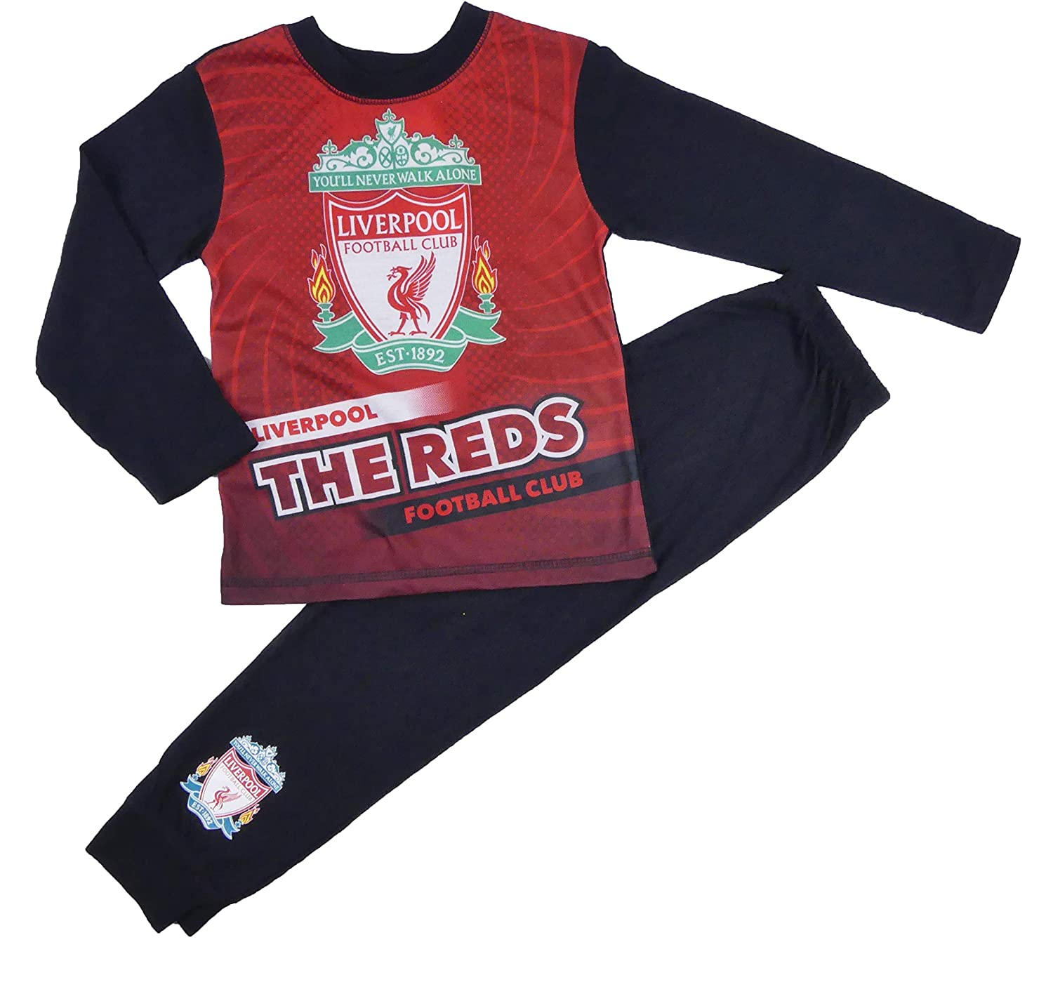 Boys Football Team Pyjamas Liverpool Arsenal Man U Man City Chelsea 2 to 12yrs