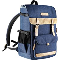 Neewer Multi-Functional Leisure Camera Backpack 10.8x8.3x16 inches/27.5x21x41 Centimeters Polyester Waterproof Photography Equipment Travel Case Bag for Tripod, Canon Nikon Sony DSLR Cameras