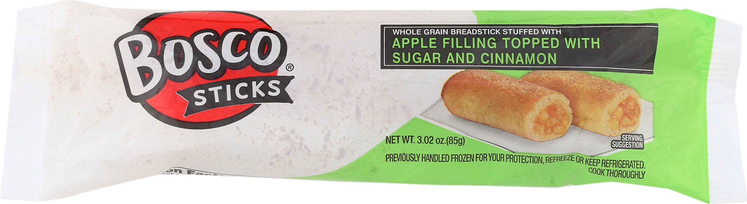 Bosco 7 inch Whole Grain Apple Bosco Stick 3.02 oz-Pack of 72