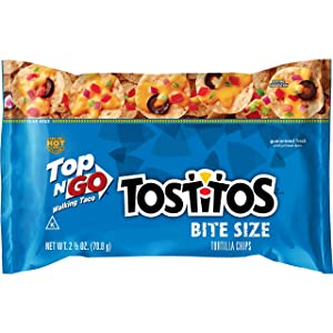 Tostitos Bite Size Walking Taco Tortilla Chips, 2.5 Ounce -- 18 per case.