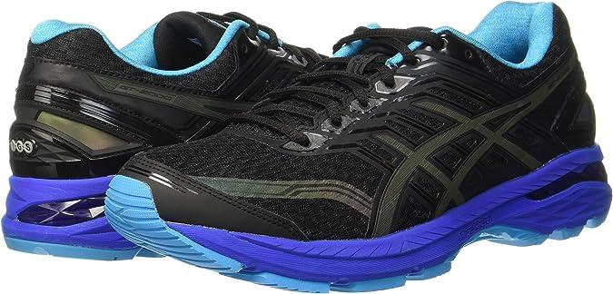 Asics Gt-2000 5 Lite-Show, Zapatillas de Running para Mujer, Negro (Black/Island Blue/Reflective), 44 EU: Amazon.es: Zapatos y complementos