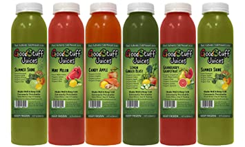5 Day Organic Juice Cleanse By Goodstuff Juices Summer Slim Kit Detox Your Body Lose Fat And