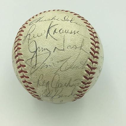 best service d88c9 5d3e0 1968 Reggie Jackson Rookie Oakland Athletics A's Team Signed ...