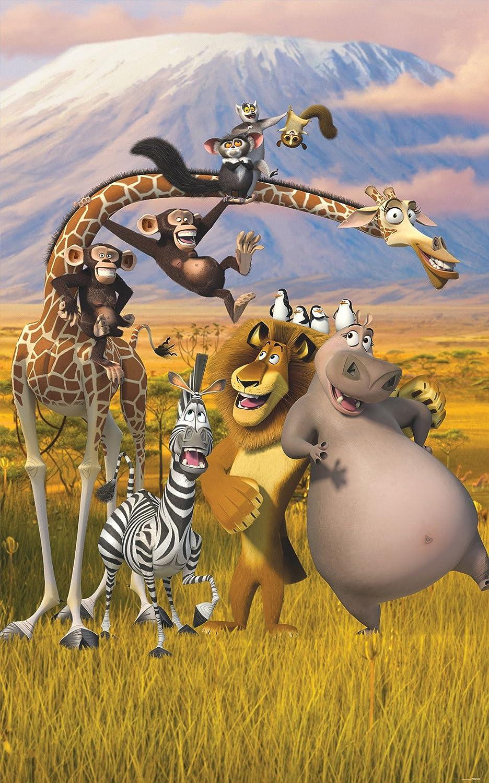 Walltastic Affiche murale   Madagascar 43091-2.4 x 1.5m