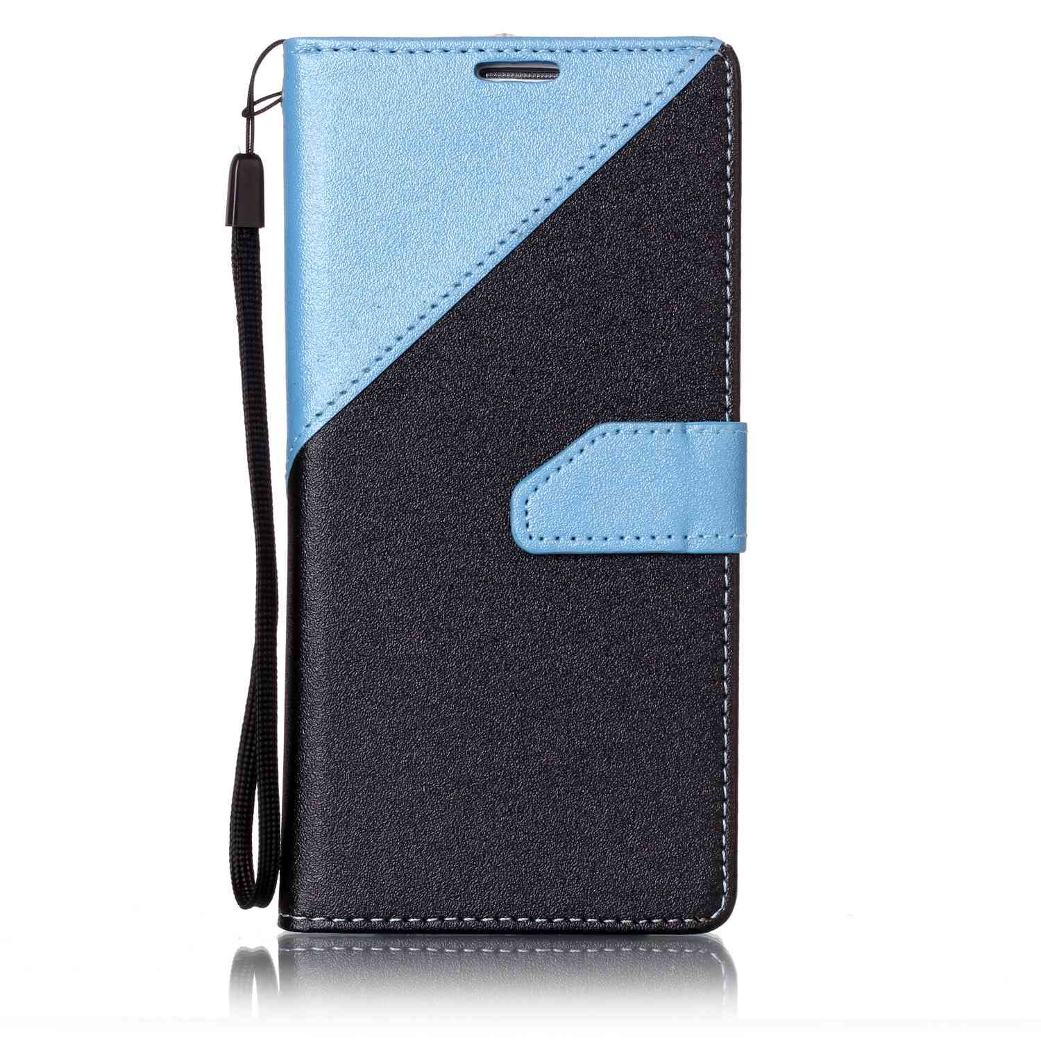 Coque Samsung Galaxy S7 Edge, Housse Etui Samsung Galaxy S7 Edge (5,5 Zoll), Carols Samsung Galaxy S7 Edge (5,5 Zoll) Étui Housse Portefeuille en Cuir Couture Mat PU Leather Flip Folio Case Cover Coque pour Samsung Galaxy S7 Edge (5,5 Zoll) Wallet Pouch Pr