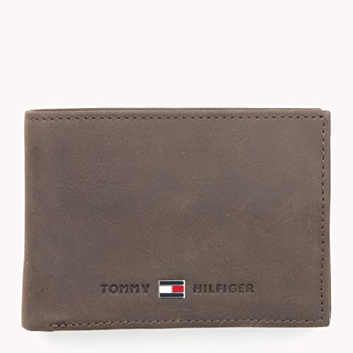 Tommy Hilfiger Johnson Mini CC Flap and Coin Pocket, Cartera Hombre^Mujer, 11x8x2