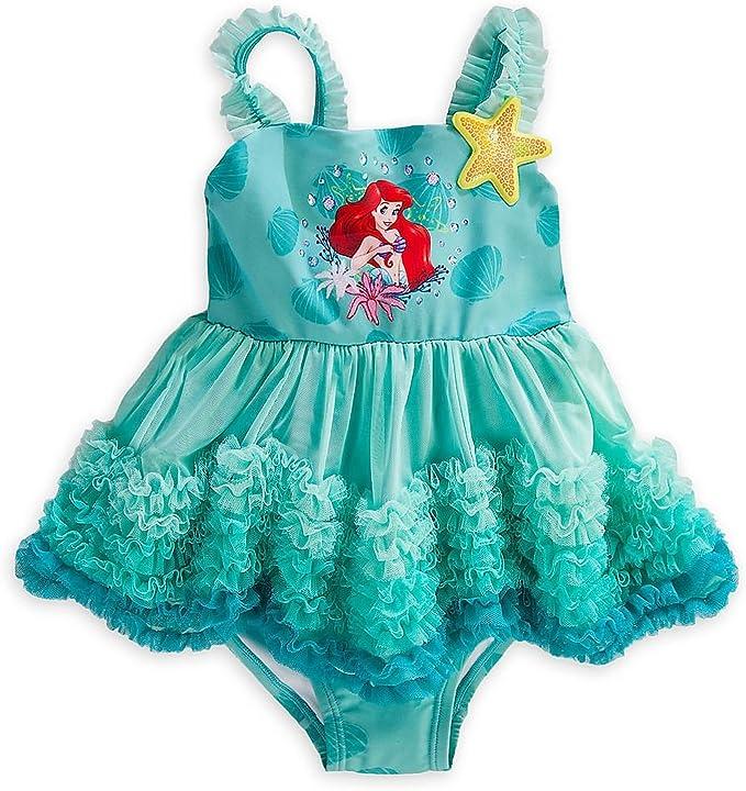 Tienda de Disney Princess Ariel de la Sirenita Little Girl 1 pieza ...