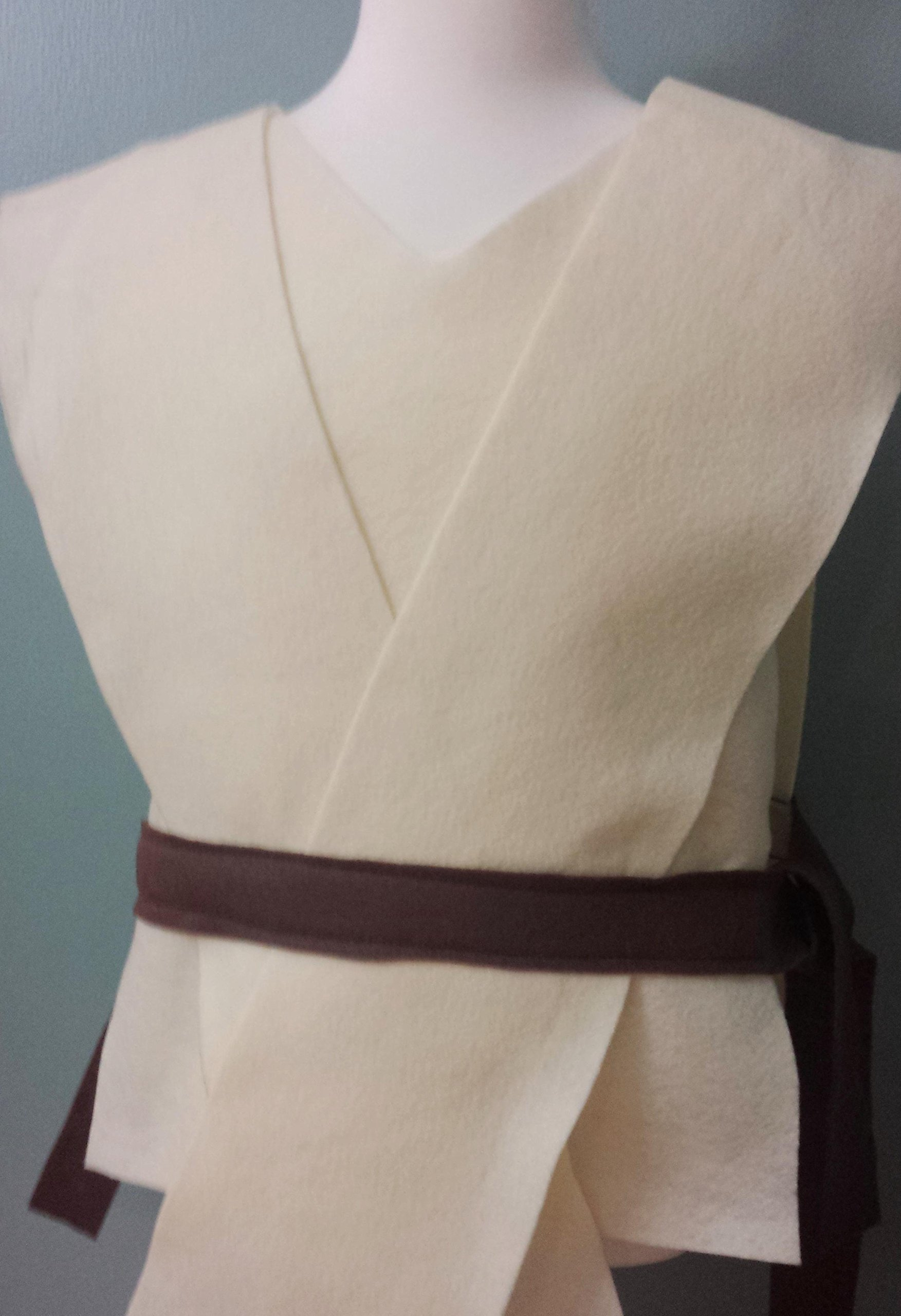 Kids Star Wars Jedi Rey Costume Tunic - Perfect for under your Jedi Robe! (Luke Skywalker/Obi Wan Kenobi) - Baby/Toddler/Kids/Teen/Adult Sizes