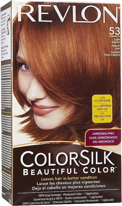 Colorsilk Permanent Haircolor - Light Auburn (53/5R) by Revlon