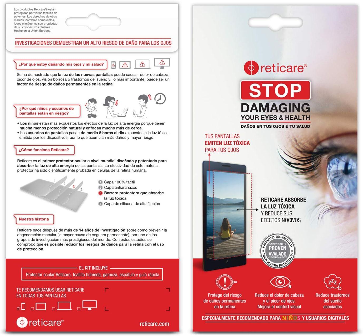 Reticare 352P-9650-B - Protector de ojos compatible con Apple ...