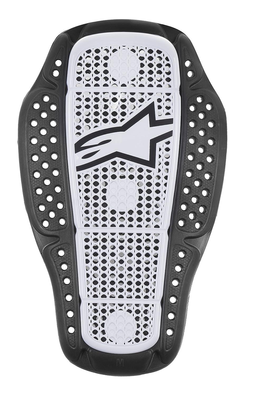 Color Blanco y Negro Talla M Alpinestars Protector de Espalda para motoristas Nucleon Kr-1i