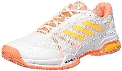 b30d96a9aa norway adidas mens barricade club tennis shoes ftwr white solar gold glow  orange 12fc2 45dda