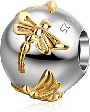 Charms for European Bracelets  Gold//Silver Plated
