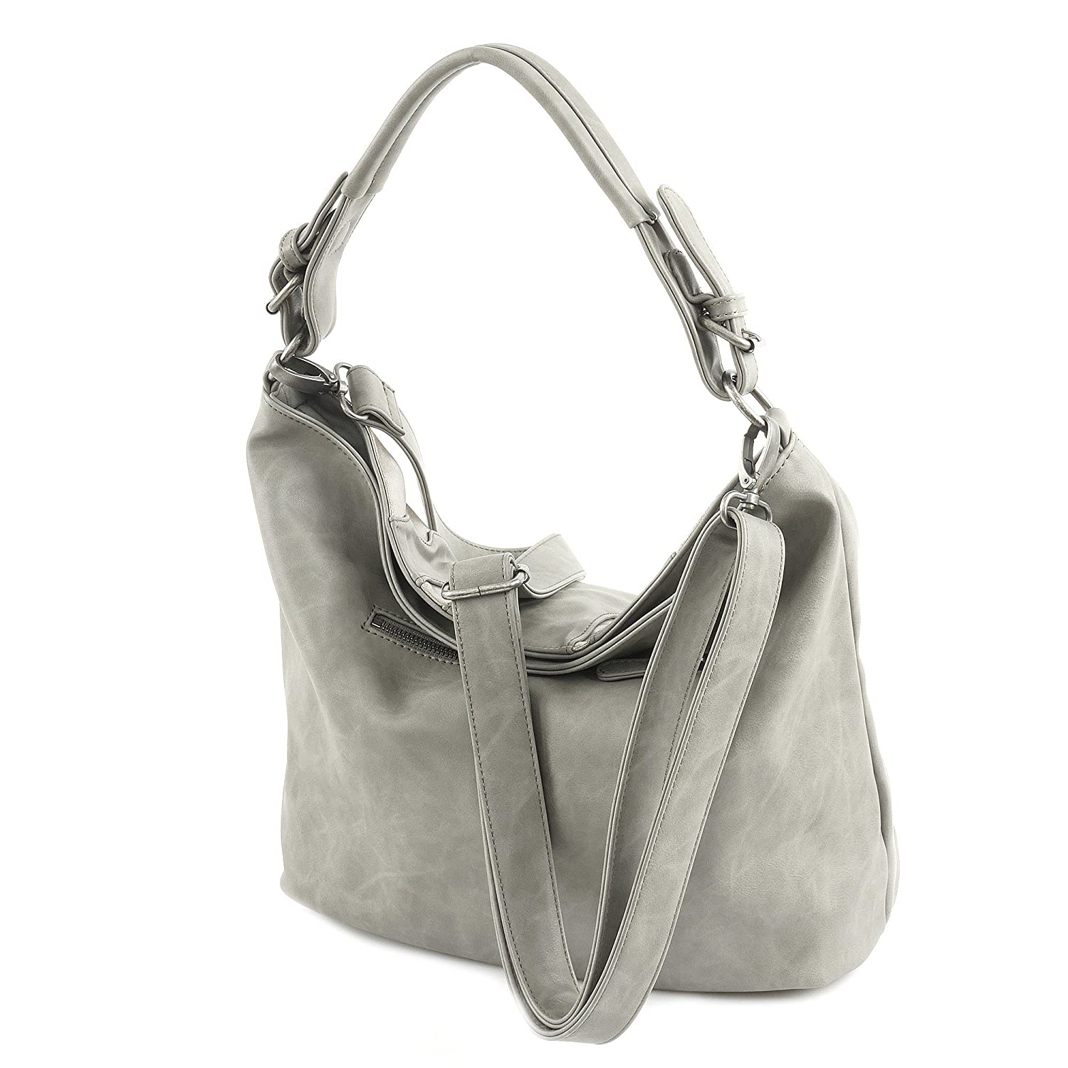Fritzi från Preußen Salome SheenN Shoulder Bag 42 cm Grå