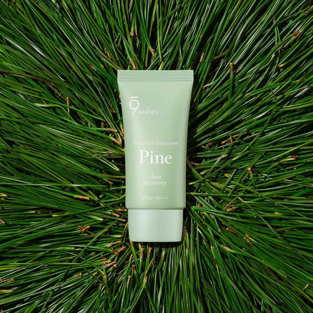 Amazon.com: [9wishes] Pine Treatment Sunscreen 1.7 Fl. Oz, e50ml, SPF50+  PA++++: Beauty