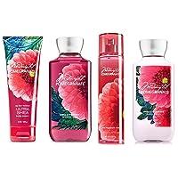 Bath & Body Works Midnight Pomegranate Deluxe Gift Set - Body Lotion - Body Cream - Fragrance Mist & Shower Gel Full Size