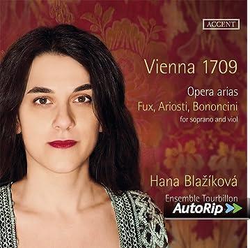 Vienna 1709: Arias De Ópera De Fux, Ariosti Y Bononcini