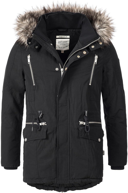 khujo Men's Plain Jacket