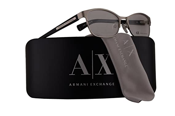 f63be144a1 Image Unavailable. Image not available for. Color  Armani Exchange AX1010  Eyeglasses ...