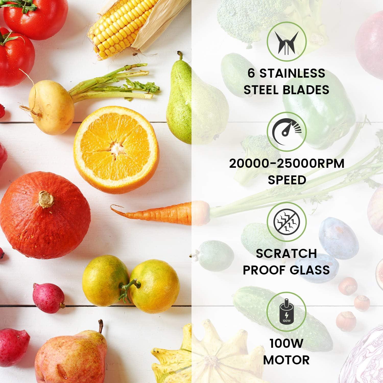 Mini Cup /& Juicer By WeightWorld USB Charging Electric Travel Juice Maker Portable USB Blender For Smoothie /& Milkshake Making Go Blend Pro 480ml Blend /& Bottle Fruit In The Kitchen /& On The Go