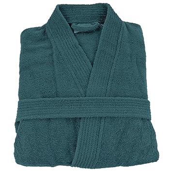 Brodeway [Personalizable] Albornoz de baño Personalizado Adulto Hombre y Mujer 100% algodón Bordado