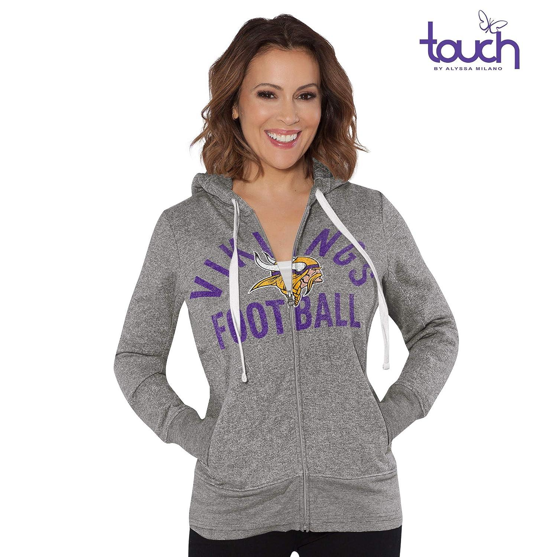 the best attitude 72903 c5d0a G-III Sports Minnesota Vikings Women's Post Season Full Zip Hooded  Sweatshirt