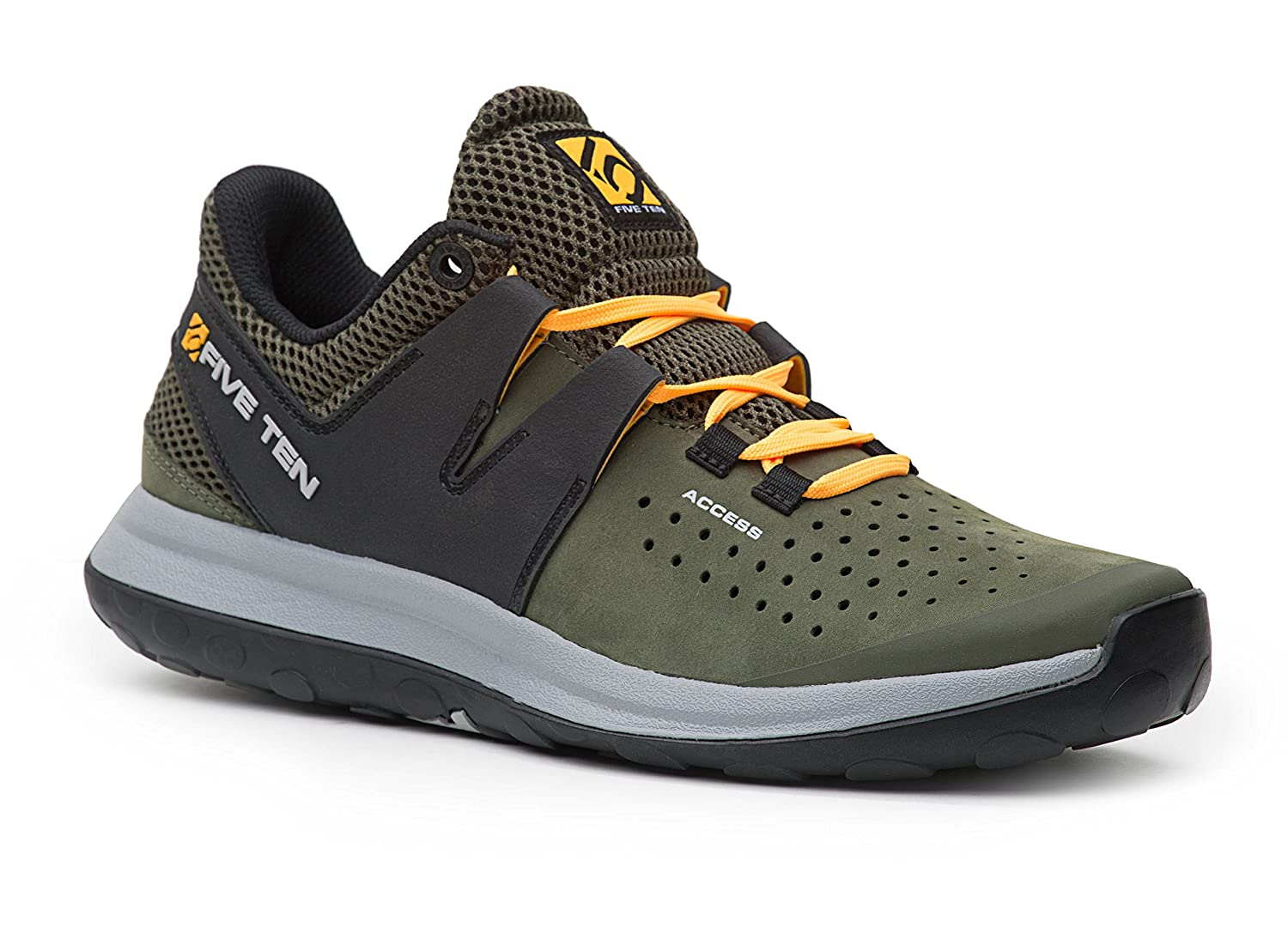 Five Ten Access - Base Grün - EU 48.5/UK 13/US 14 - Atmungsaktiver Leichter Multisport-Schuh