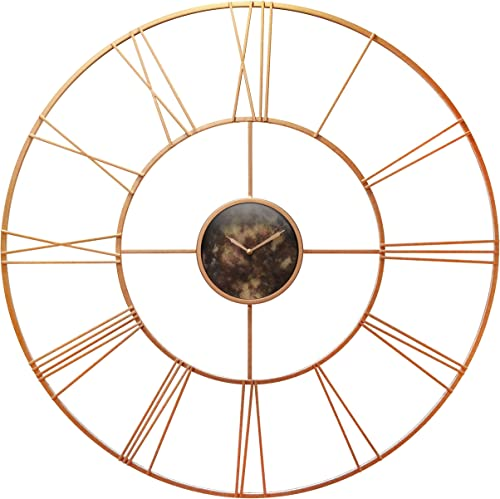 Infinity Instruments Pearle D or 45.25 Inch Rose Gold Wall Clock