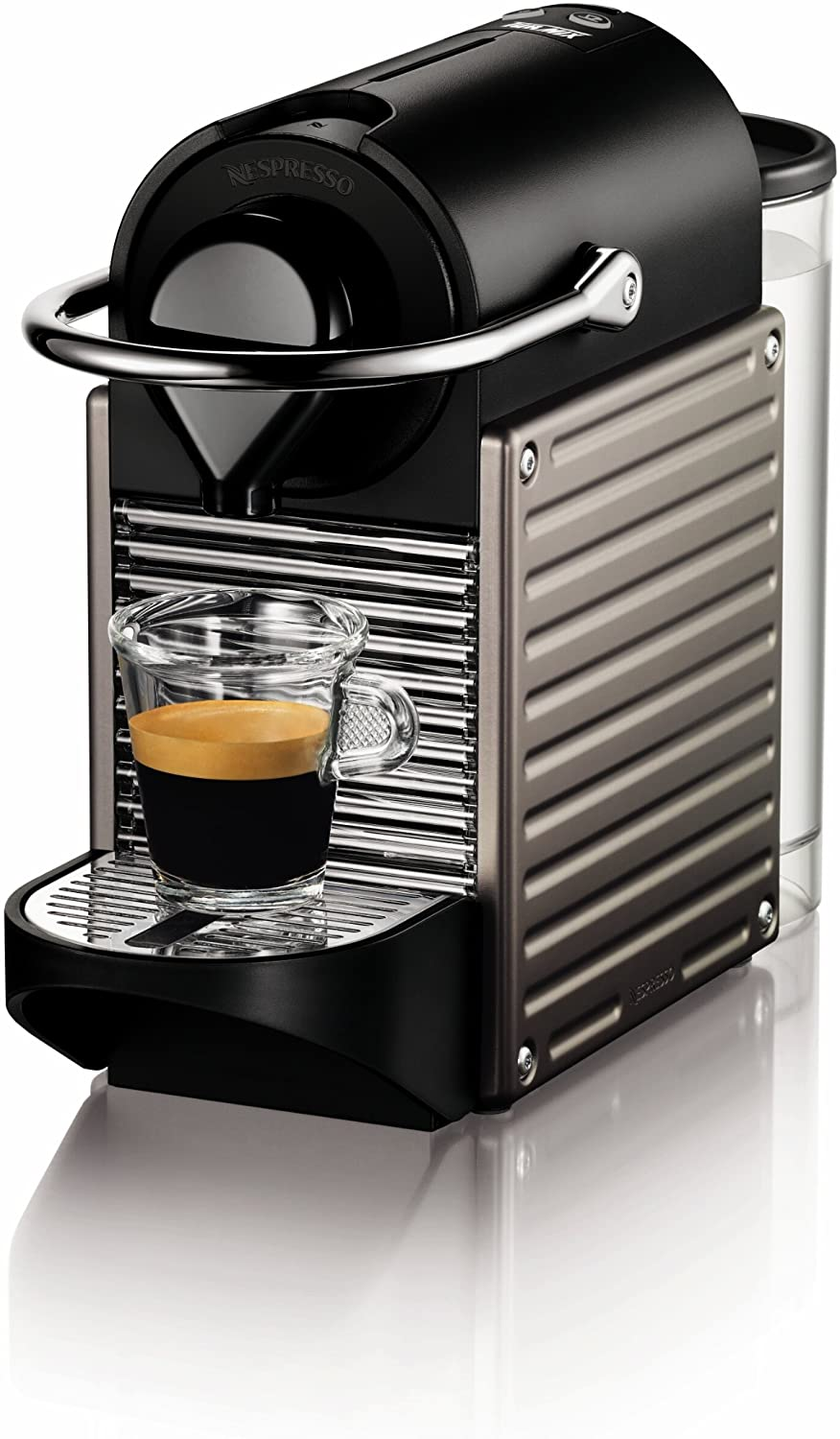 Nespresso Pixie Espresso Maker, Electric Titan Discontinued Model