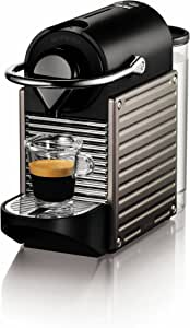Nespresso Pixie Espresso Maker, Electric Titan (Discontinued Model)